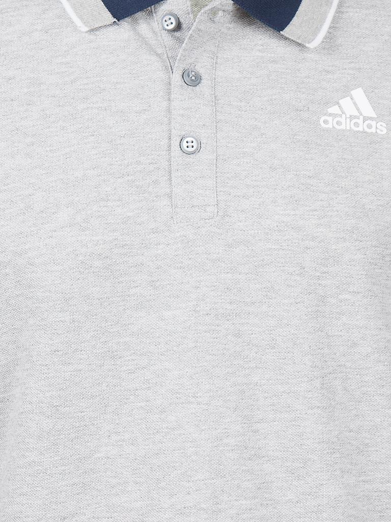 ADIDAS | Herren Trainings-Polo | grau