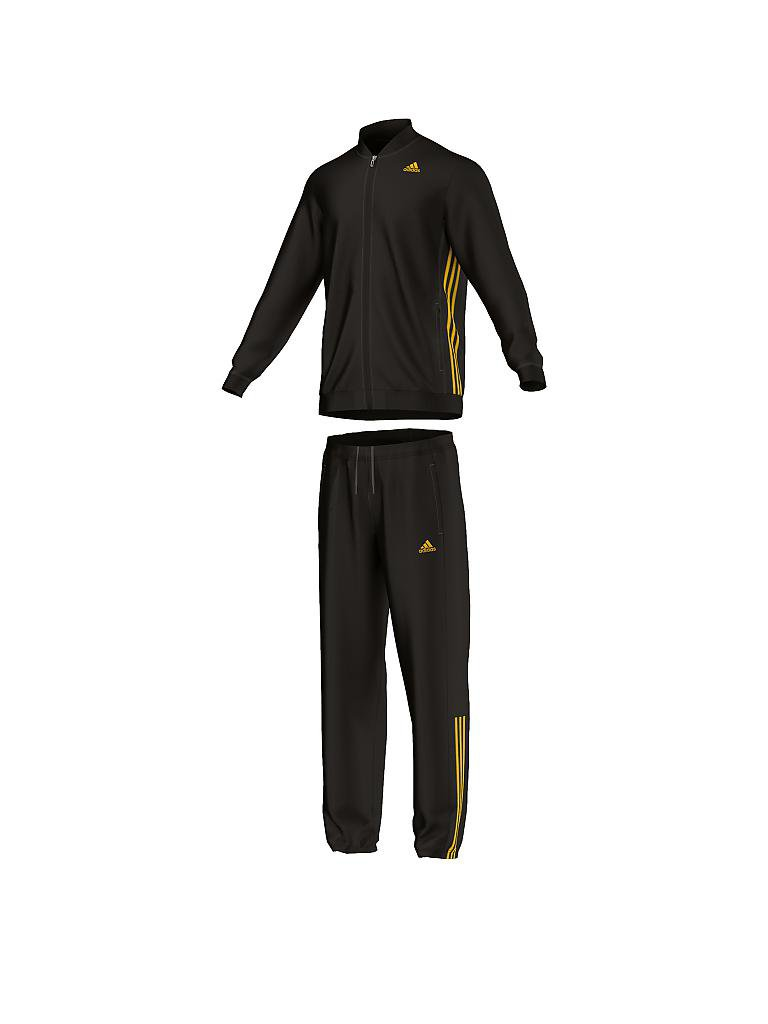 ADIDAS | Herren Trainingsanzug Essentials | schwarz