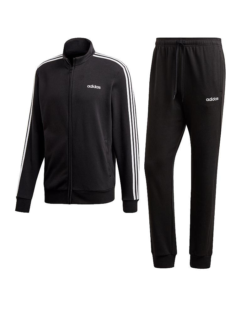 ADIDAS | Herren Trainingsanzug MTS Co Relax | schwarz