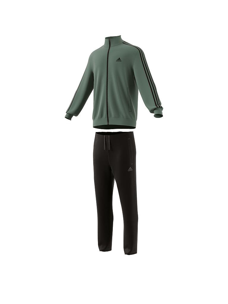 adidas herren trainingsanzug relax tracksuit olive 48. Black Bedroom Furniture Sets. Home Design Ideas