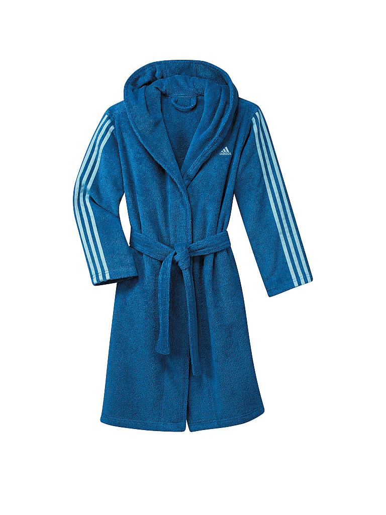 adidas Bademantel Kinder Blau