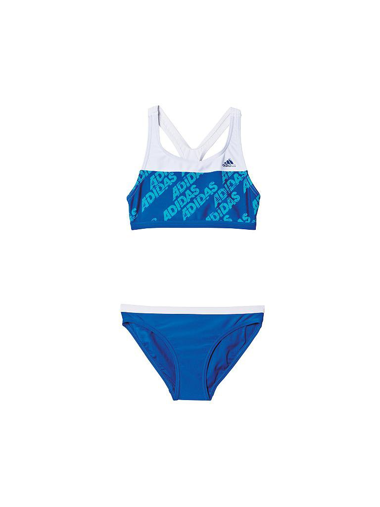 ADIDAS | Kinder Bikini Allover | blau