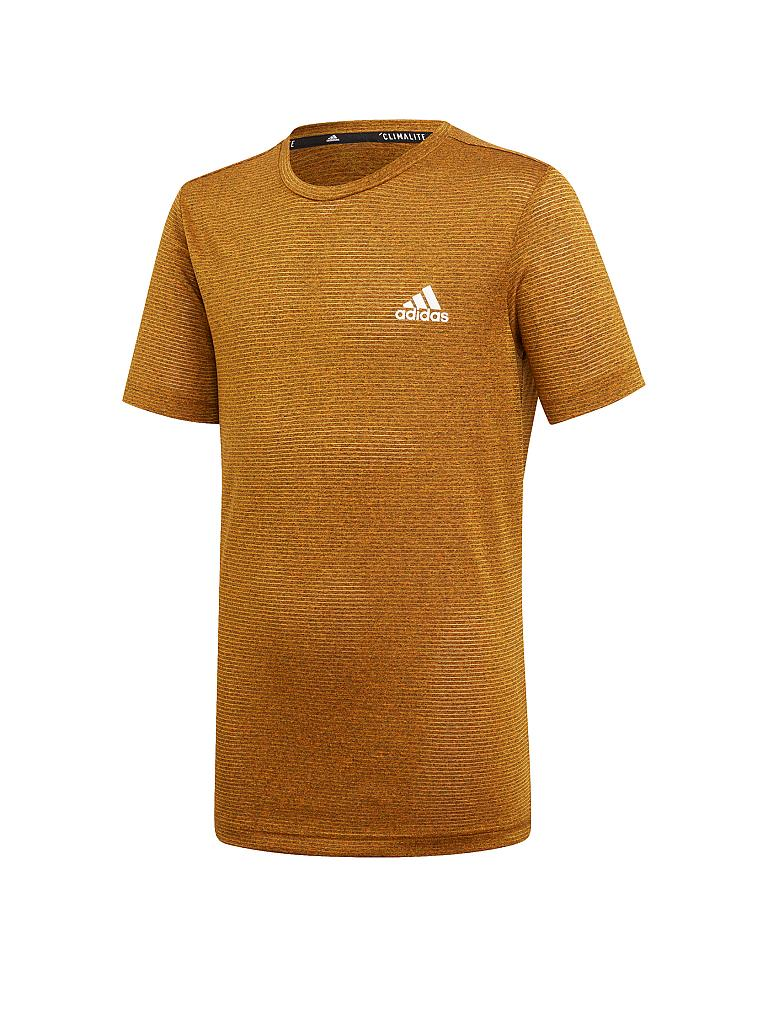 ADIDAS | Kinder Fitness-Shirt Textured | orange