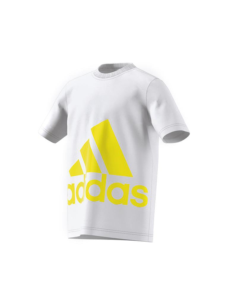 ADIDAS | Kinder T-Shirt Big Logo | weiß