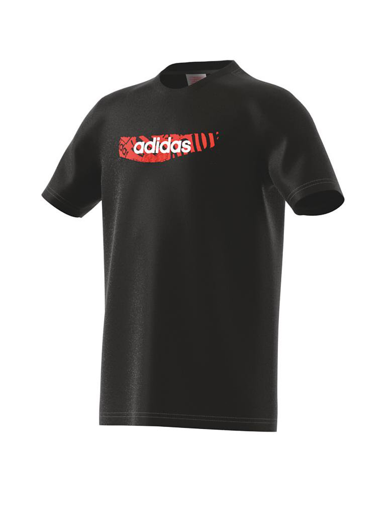 ADIDAS | Kinder T-Shirt Graphic | schwarz