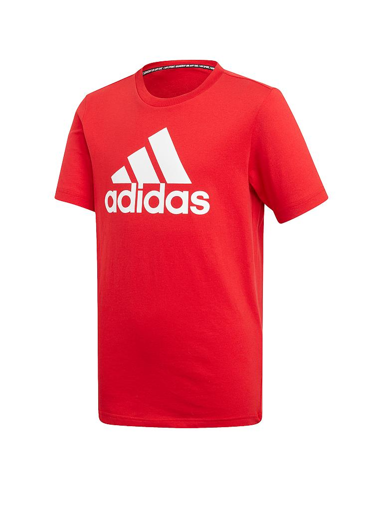 ADIDAS | Kinder T-Shirt Must Haves Badge of Sport | rot