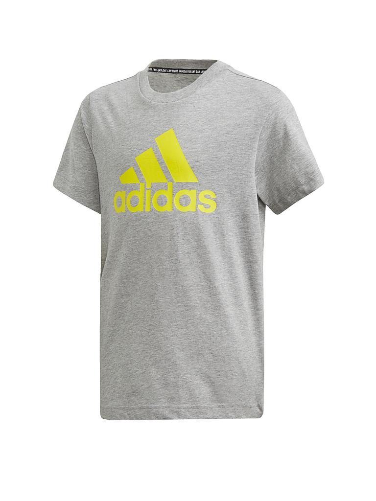 ADIDAS | Kinder T-Shirt Must Haves Badge of Sport | grau