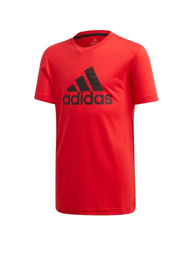 adidas kinder tshirt prime rot  116