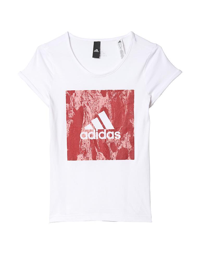 adidas kinder t shirt sport id girl wei 110. Black Bedroom Furniture Sets. Home Design Ideas
