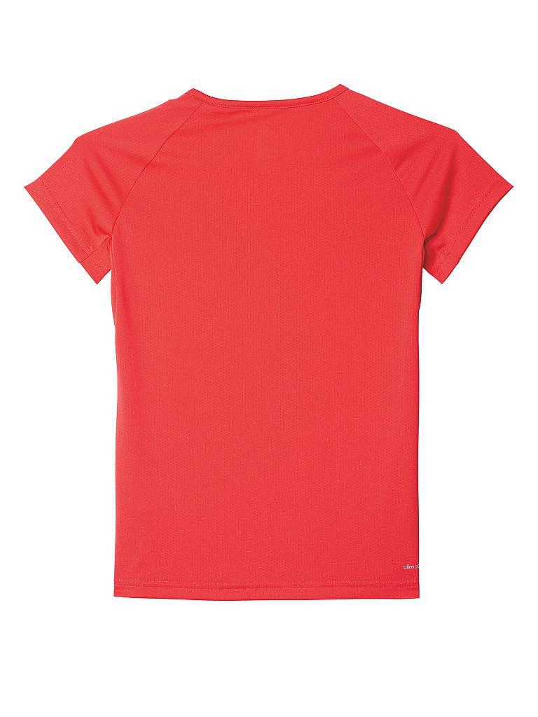 adidas m dchen fitness t shirt climacool tr pink 116. Black Bedroom Furniture Sets. Home Design Ideas