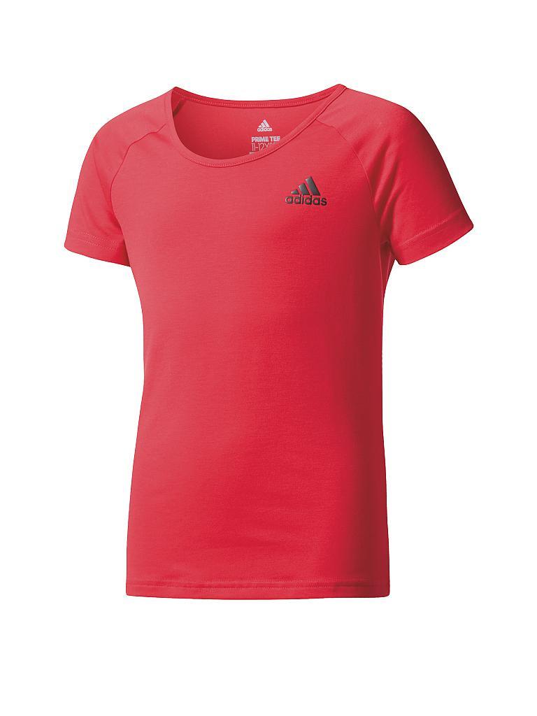 adidas m dchen fitness shirt prime pink 110. Black Bedroom Furniture Sets. Home Design Ideas