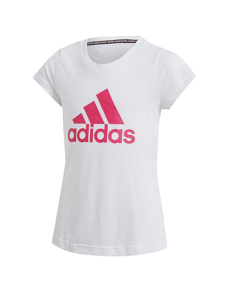 ADIDAS | Mädchen Shirt Must Haves Badge of Sport | weiß
