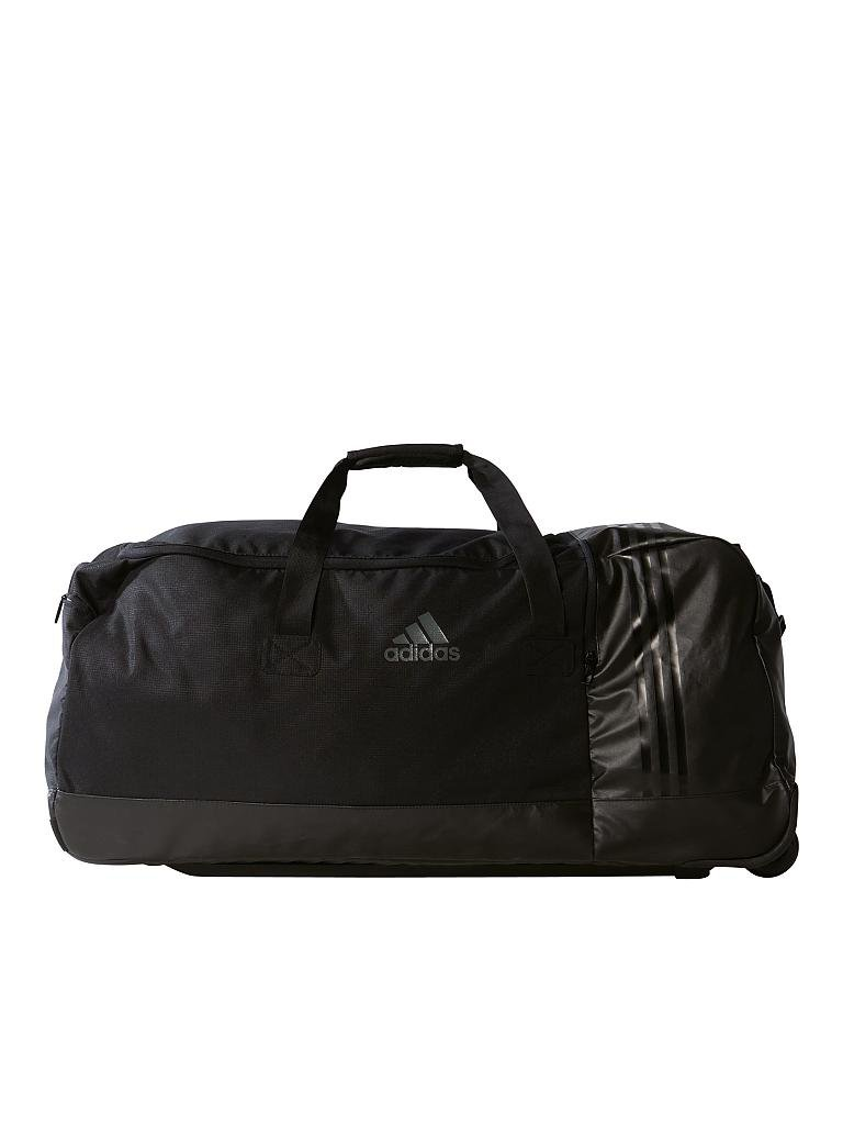 adidas reisetasche mit rollen teambag xl schwarz. Black Bedroom Furniture Sets. Home Design Ideas