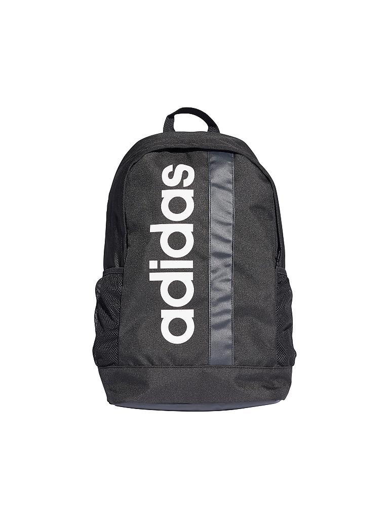 speziell für Schuh erstklassiges echtes am besten billig ADIDAS Rucksack Logo Linear Core schwarz