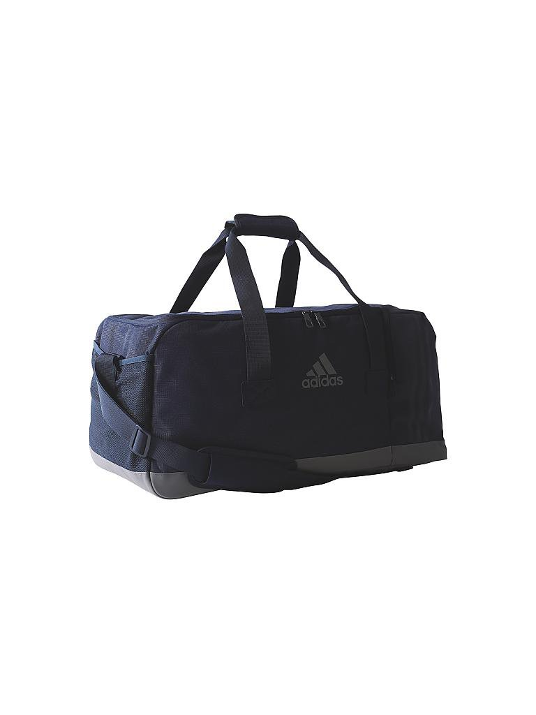 adidas trainingstasche 3 streifen performance m blau. Black Bedroom Furniture Sets. Home Design Ideas