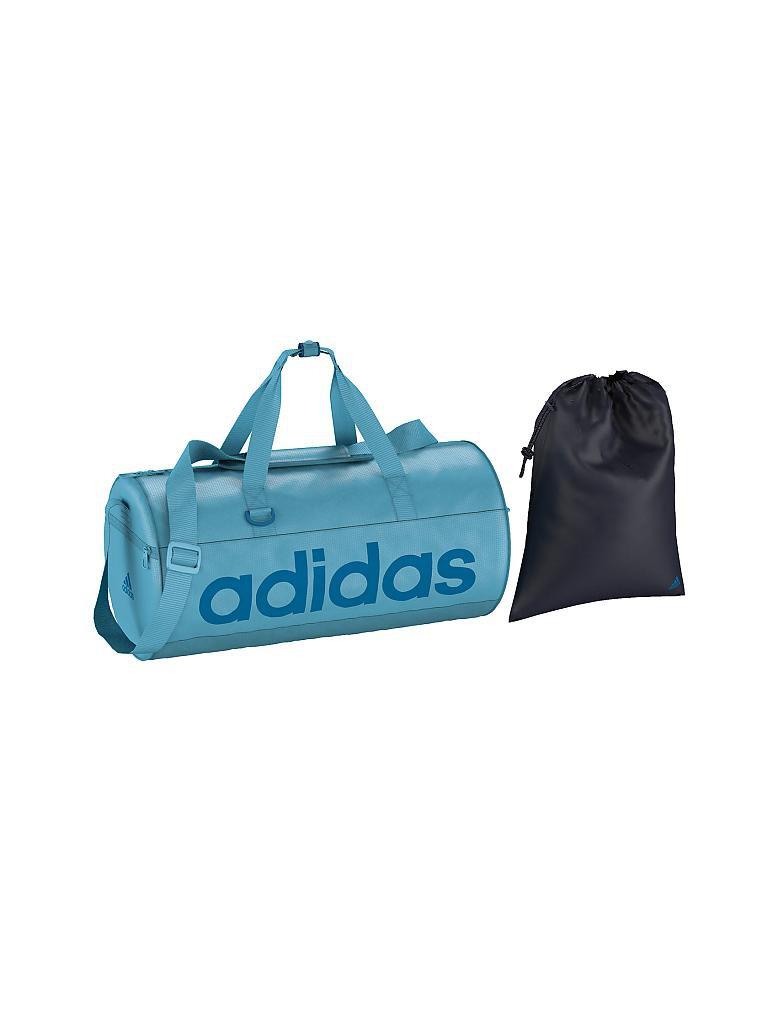 adidas trainingstasche linear s blau. Black Bedroom Furniture Sets. Home Design Ideas