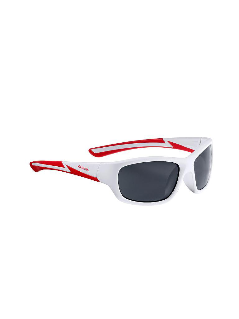 ALPINA Kinder Sonnenbrille Flexxy Youth weiß 6OxO6hz
