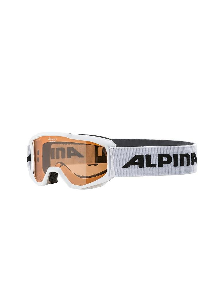 ALPINA | Kinder Skibrille Piney SH | weiß