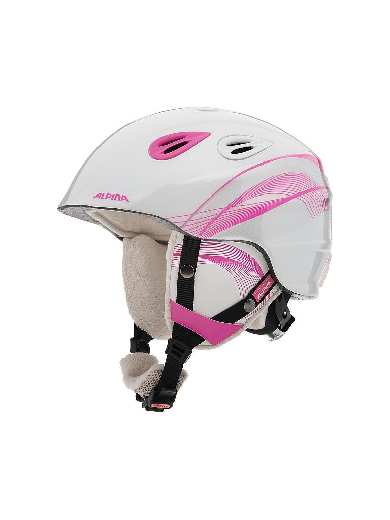 ALPINA | Kinder Skihelm Grap Junior | rosa
