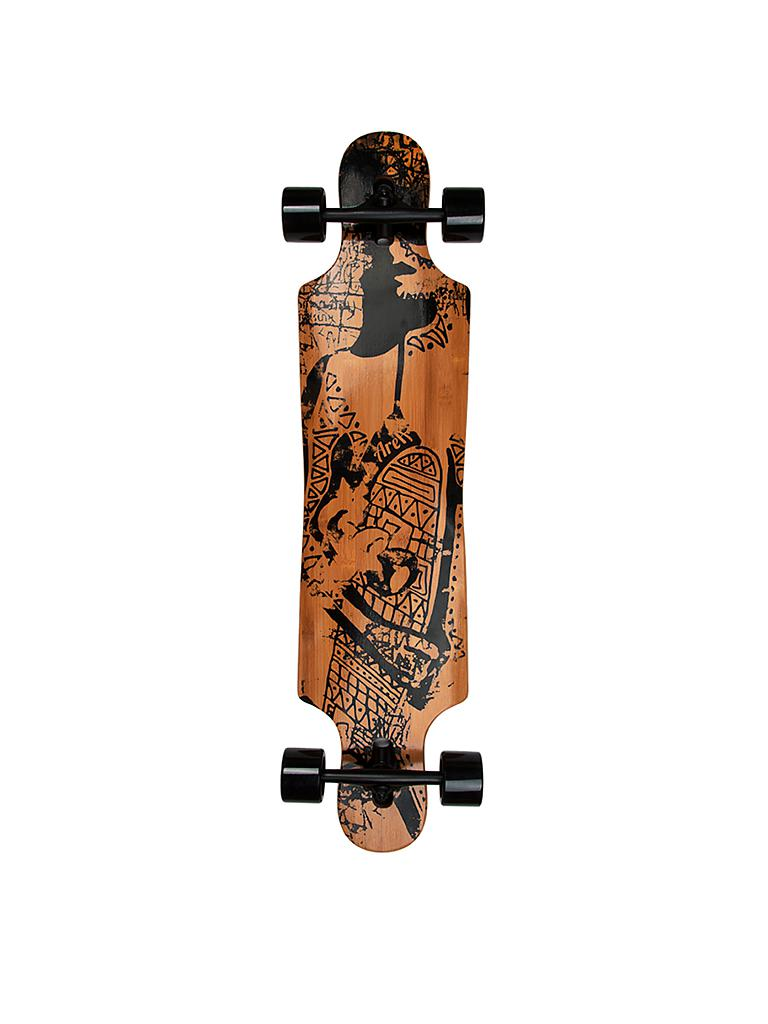 AREA | Longboard Tribal Curves | braun