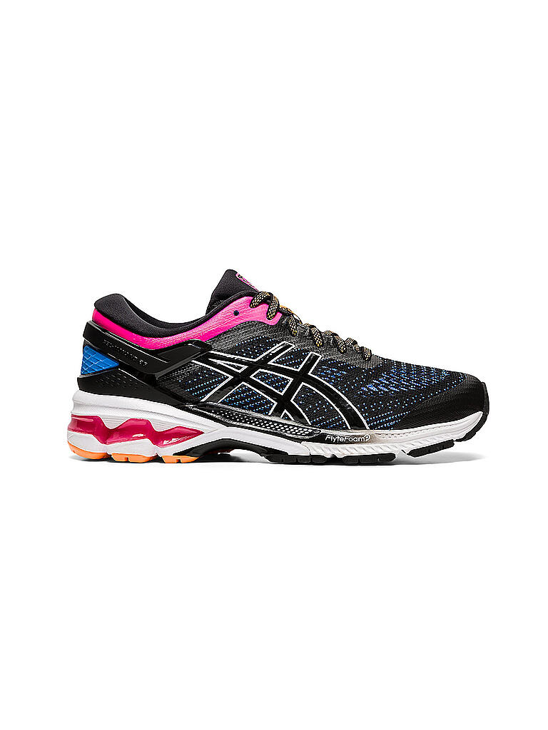 Damen Laufschuh Gel Kayano 26 BLACK / BLUE COAST