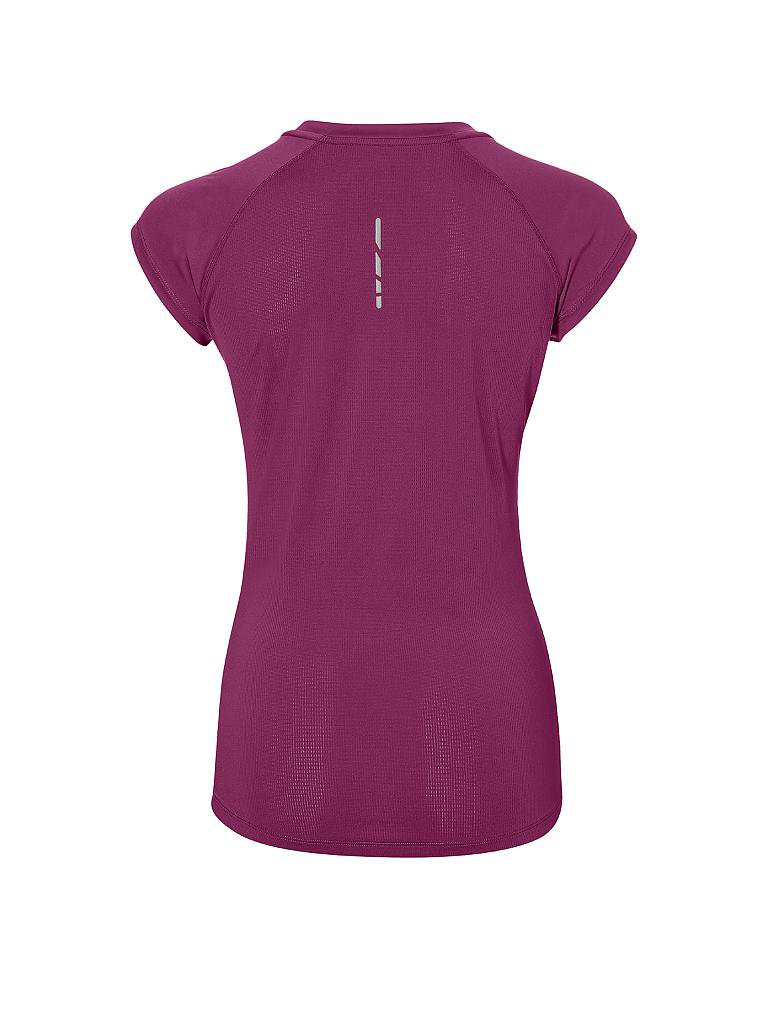 asics damen fitness shirt capsleeve top lila s. Black Bedroom Furniture Sets. Home Design Ideas