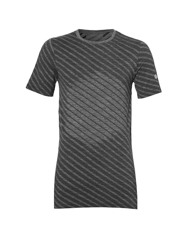 asics herren fitness t shirt seamless grau s. Black Bedroom Furniture Sets. Home Design Ideas