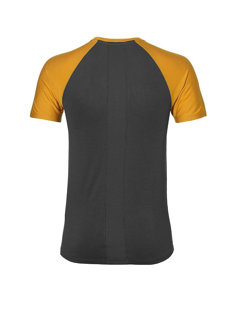 asics herren fitness shirt fuzex bunt s. Black Bedroom Furniture Sets. Home Design Ideas
