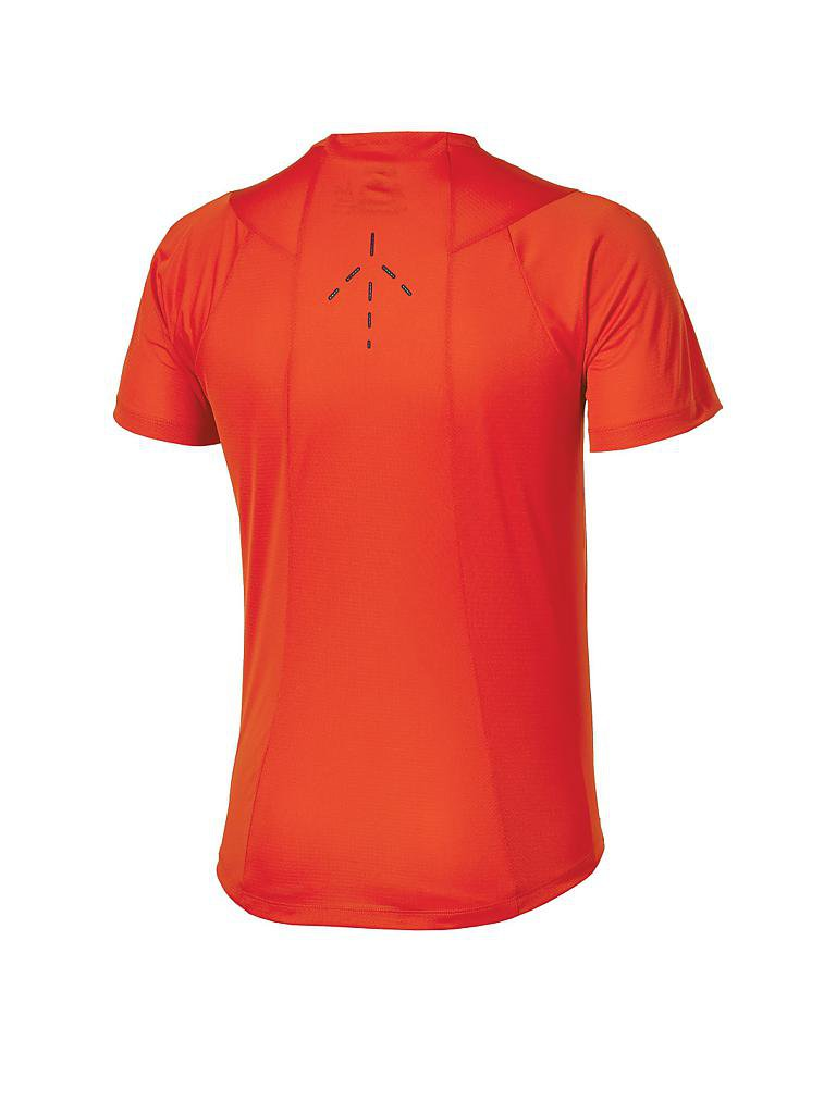 ASICS | Herren Tennisshirt Athlete Monfils | orange