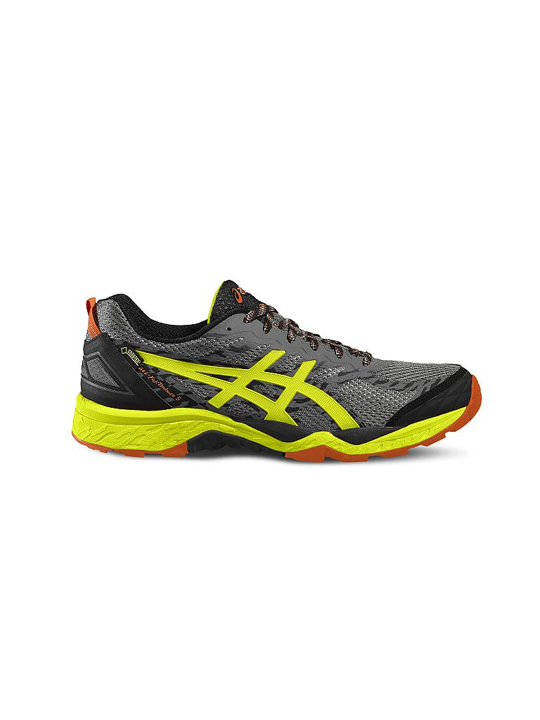 asics herren traillaufschuh gel fuji trabuco 5 gtx grau 40 5. Black Bedroom Furniture Sets. Home Design Ideas