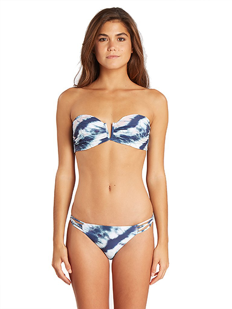 BILLABONG Damen Bikinioberteil Tidal Wave Bustier Bikini Top blau | M