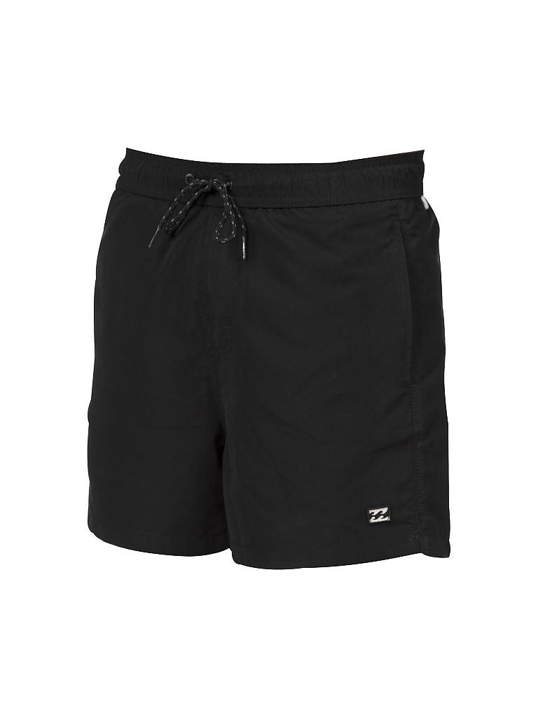 billabong herren badeshorts all day layback 16 schwarz s. Black Bedroom Furniture Sets. Home Design Ideas