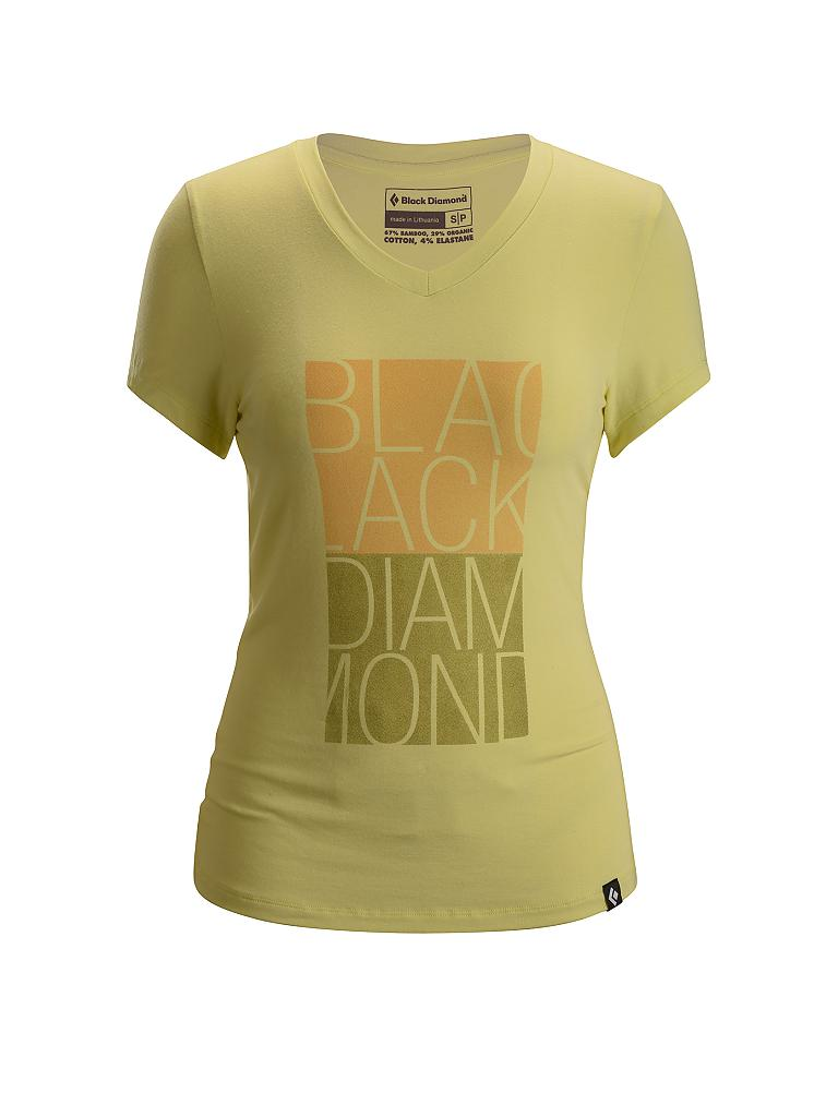 BLACK DIAMOND | Damen Klettershirt Graphic | gelb