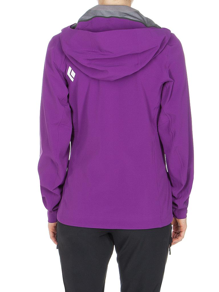 BLACK DIAMOND | Damen Softshell Jacke Induction Shell WS | lila