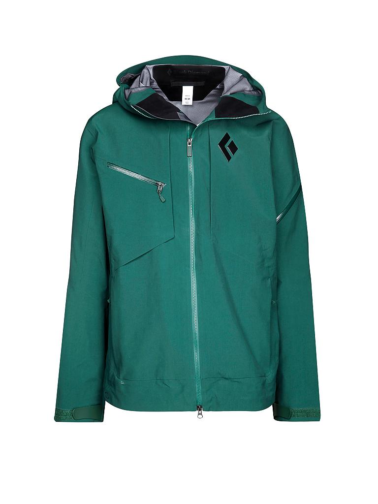 BLACK DIAMOND | Herren Tourenjacke Mission GTX Pro Shell | grün