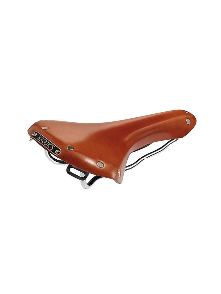 BROOKS ENGLAND | Fahrradsattel Swallow Honey | braun
