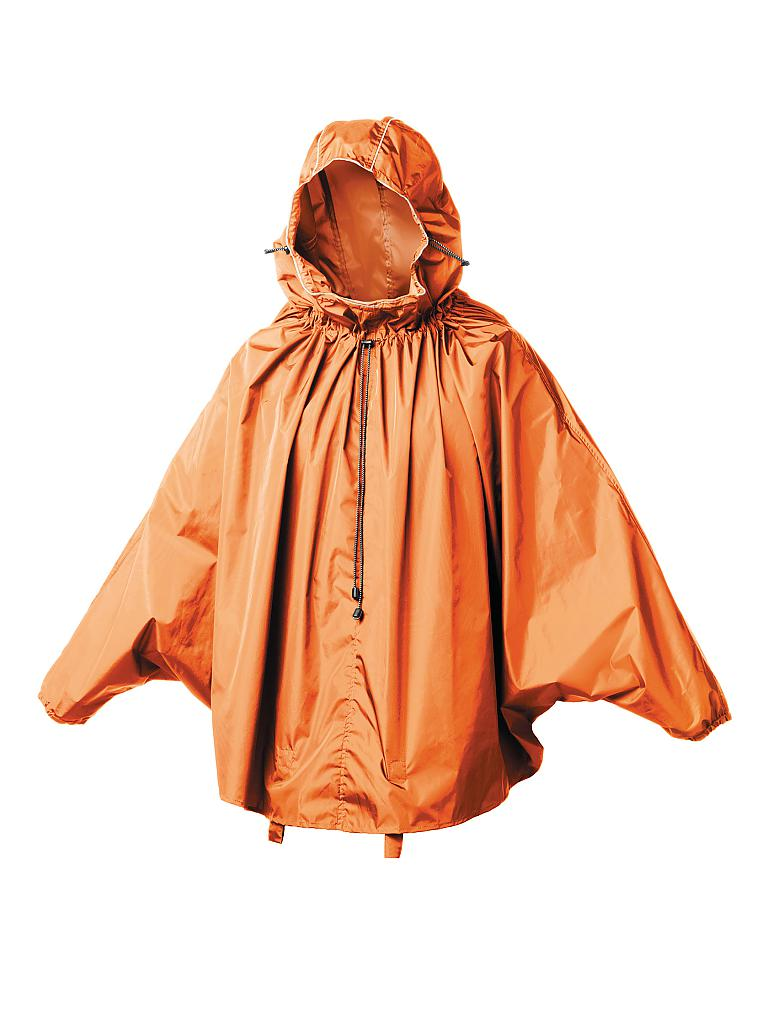 BROOKS ENGLAND | Regenponcho John Boultbee Cambridge | orange
