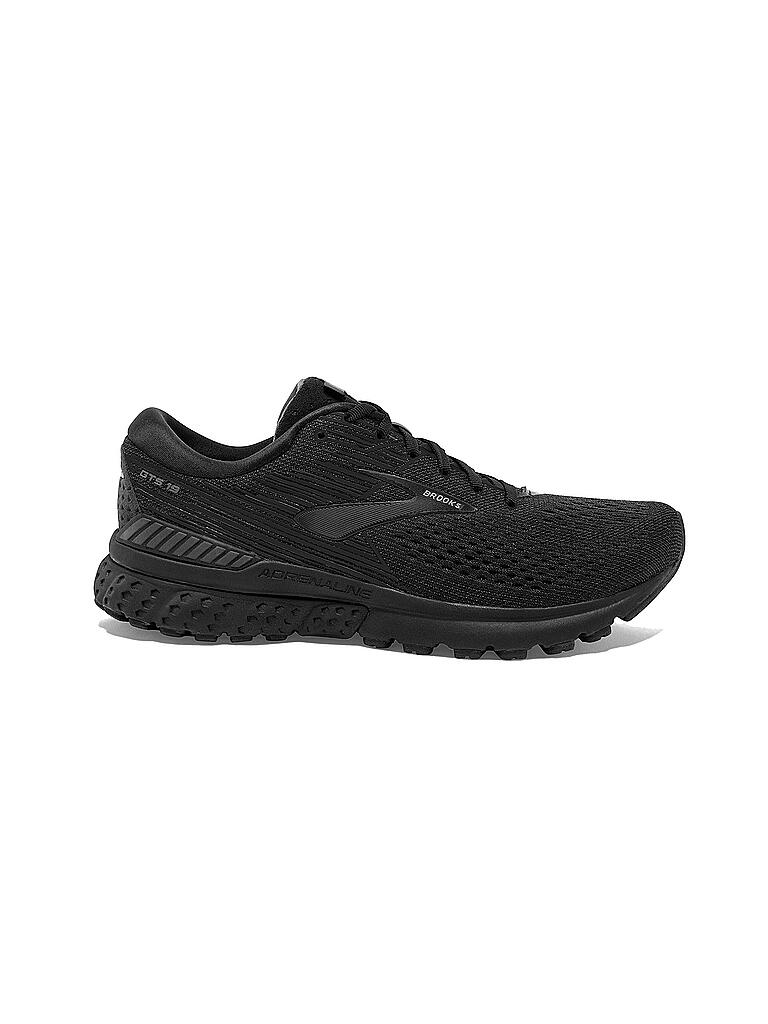 BROOKS | Damen Laufschuh Adrenalin GTS 19 BLACK EBONY | schwarz