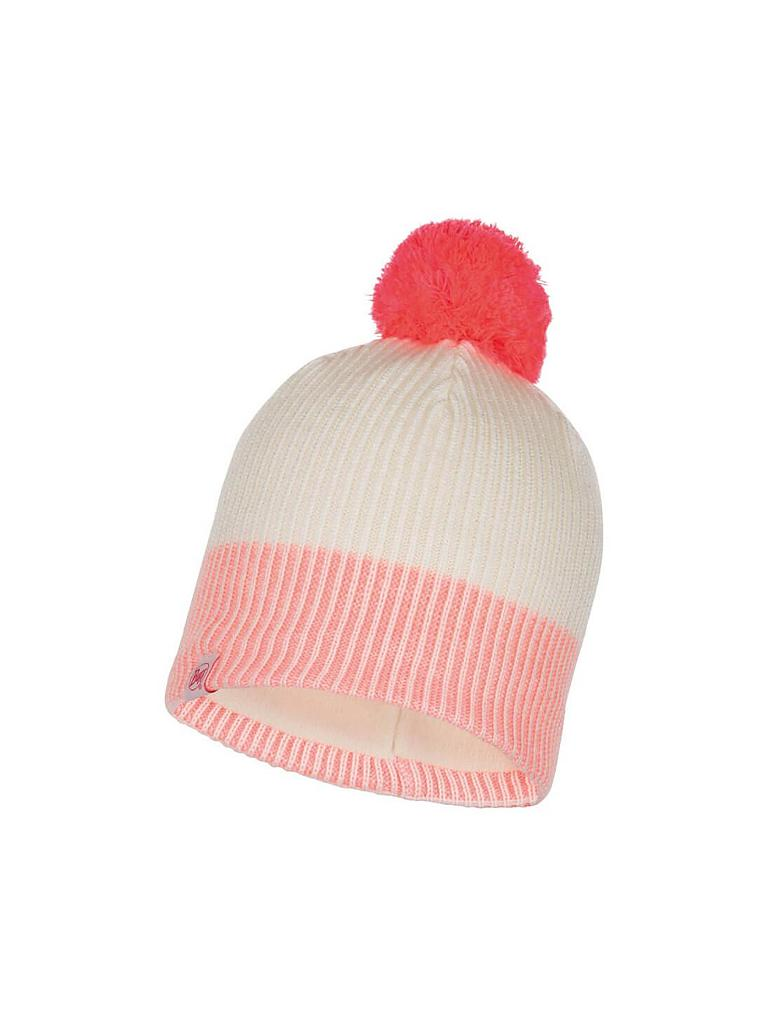 BUFF | Kinder Haube Knitted | rosa