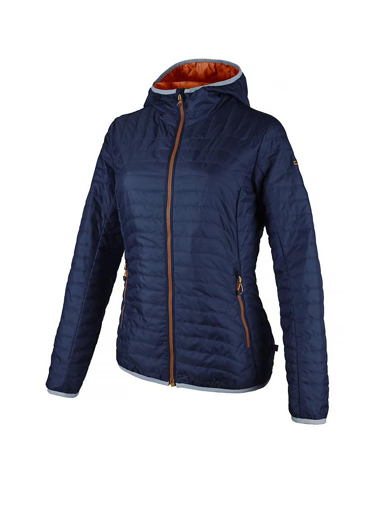 CAMPAGNOLO | Damen Isolationsjacke Fix Hood PRL | blau