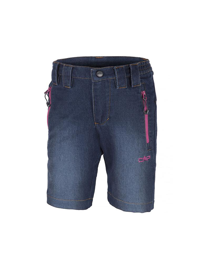 CAMPAGNOLO | Kinder Wandershorts Fake Denim Stretch Girl | blau