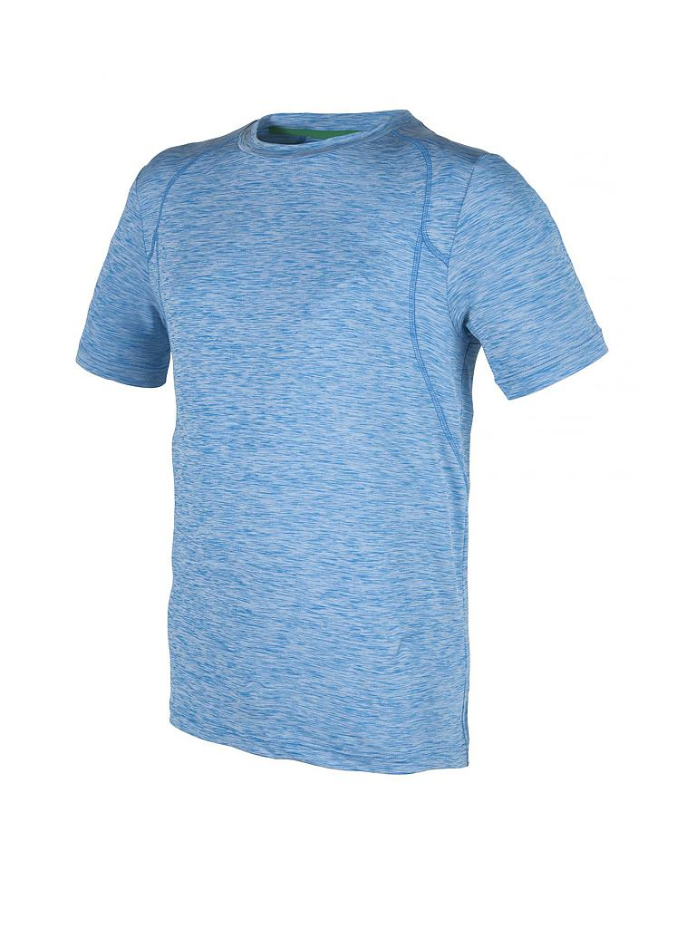 d5ef54f3ee0c8f CMP Herren Funktionsshirt Stretch Melange blau