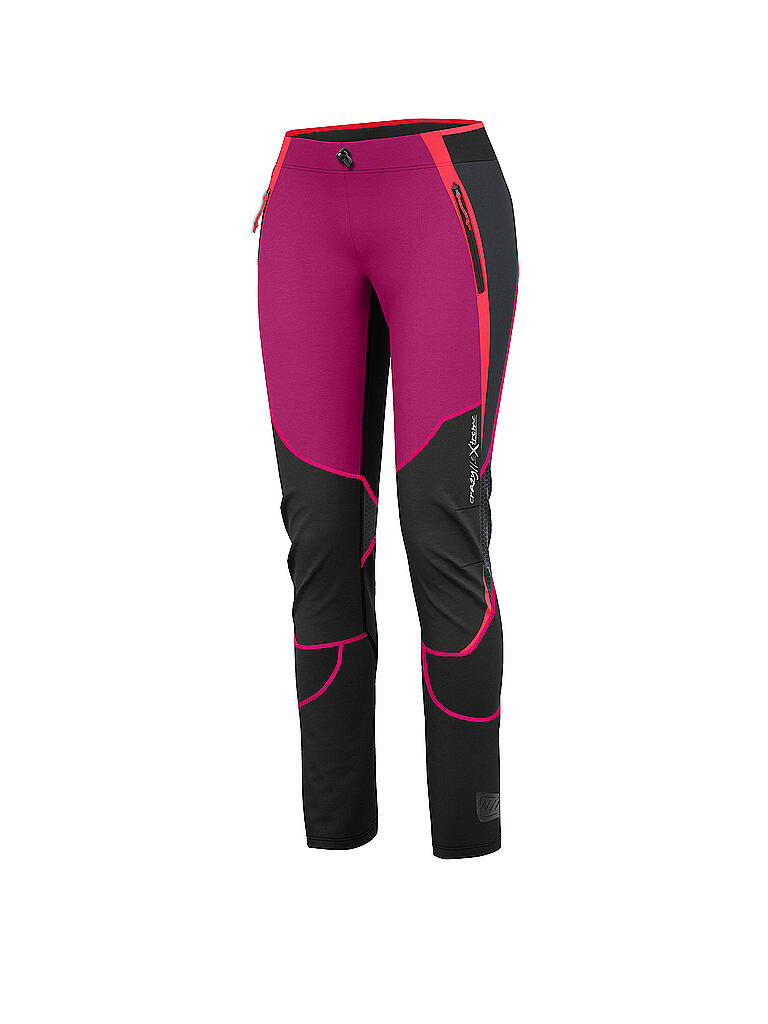 CRAZY | Damen Tourenhose Magnetic | lila