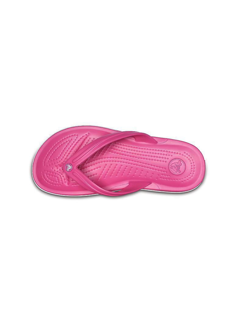 crocs damen zehentrenner crocband flip pink 37 38. Black Bedroom Furniture Sets. Home Design Ideas
