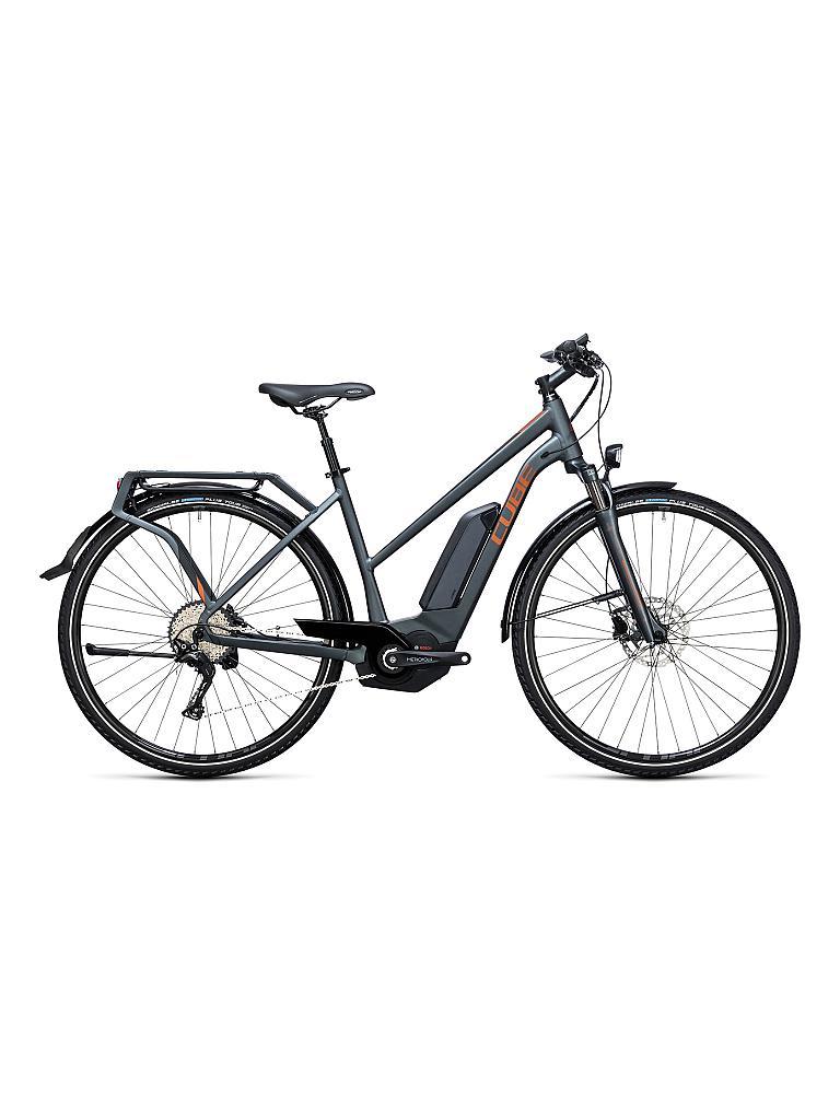 cube damen e trekkingbike 28 touring hybrid exc 500 2017. Black Bedroom Furniture Sets. Home Design Ideas