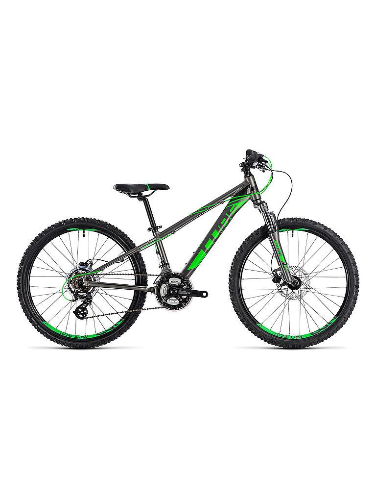 cube kinder mountainbike 24 kid 240 disc 2019 grau