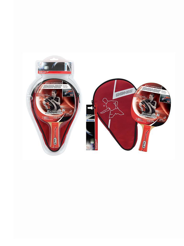 donic tischtennisschl ger set waldner 600 rot. Black Bedroom Furniture Sets. Home Design Ideas