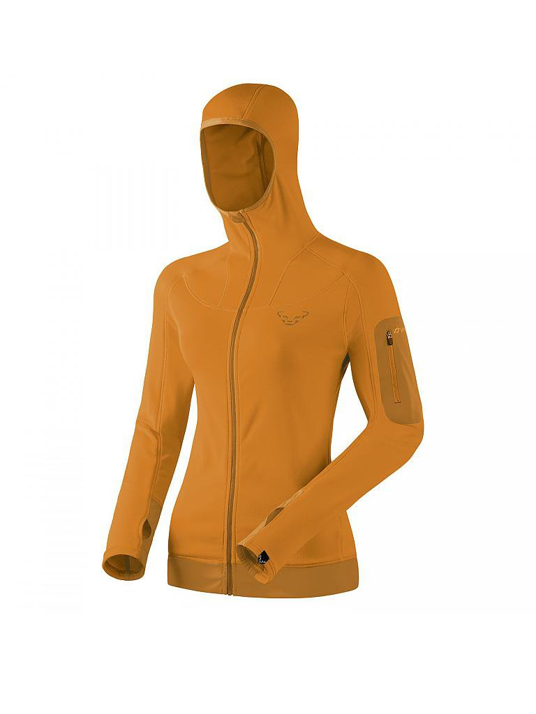 DYNAFIT | Damen Fleecejacke Traverse Thermal Hoody | orange