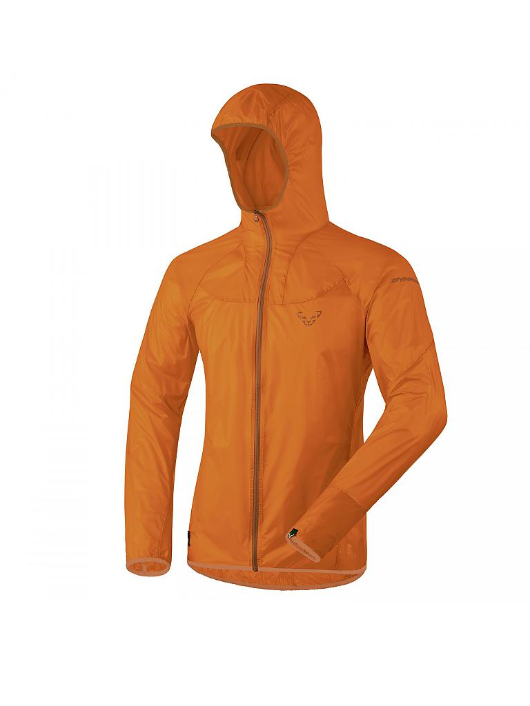 DYNAFIT | Herren Wanderjacke React Ultralight | orange