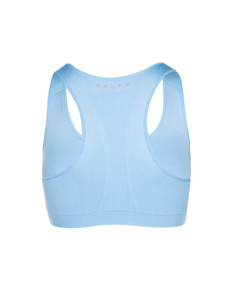 FALKE | Damen Sport-BH Low Support | blau